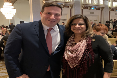 Neerja and Immigration Minister Marco Mendicino